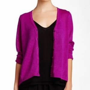 Eileen Fisher High Low Cardigan size xsmall